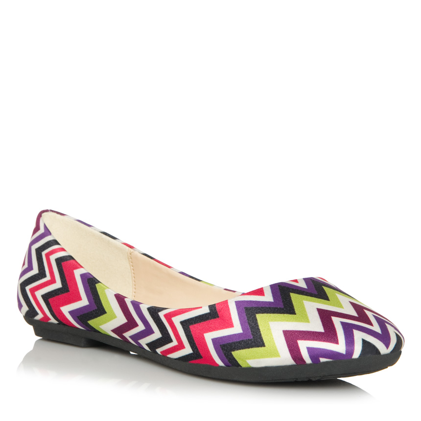 Look for Less: Missoni Flats (2/2)