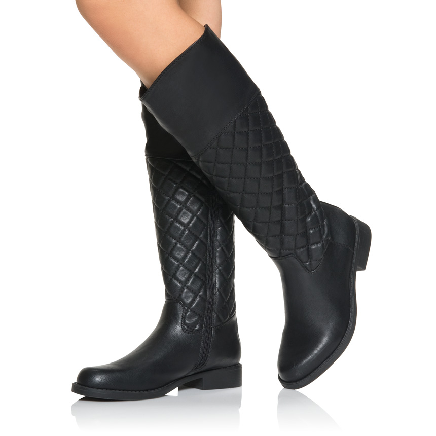 justfab knee high boots boots image