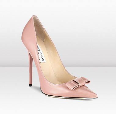 "Jimmy Choo ""Maya"" bow pumps $650"