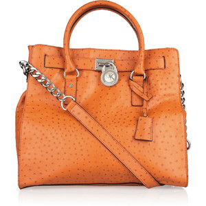 Michael Kors Hamilton in Ostrich $395