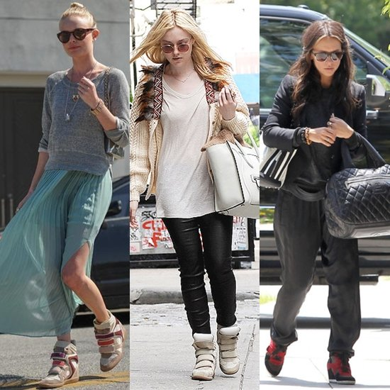 Celebrities wearing Isabel Marrant
